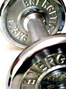 Hantel-Fitness